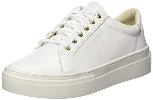 Vagabond Damen Zoe Platform Sneaker, Weiß (White 01), 40 EU