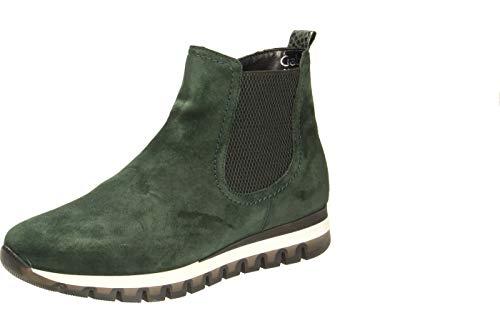 Gabor Damen Chelsea Boots, Frauen Stiefeletten,Wechselfußbett,Mehrweite, stiefel halbstiefel bootie,forest (Micro),37.5 EU / 4.5 UK