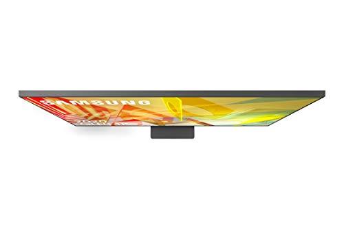SAMSUNG QLED 4K 2020 75Q95T Smart-TV, 75 Zoll, 4K UHD-Auflösung, Direct Full Array Elite HDR 2000, 4K-Intelligenz, Multi-View, OTS, Premium One Remote und integrierte Sprachassistenten