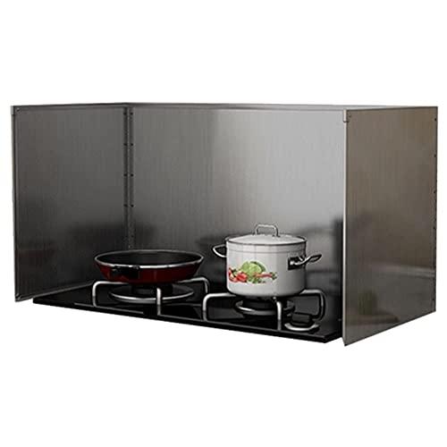Splashback para Cocina, Salpicaduras de Cocina, Cocina, Anti-Humo, Acero Inoxidable, Deflector, Deflector de Aceite, Estufa de Cocina, Tablero de Aislamiento térmico, Protector contra Salpicaduras, 8