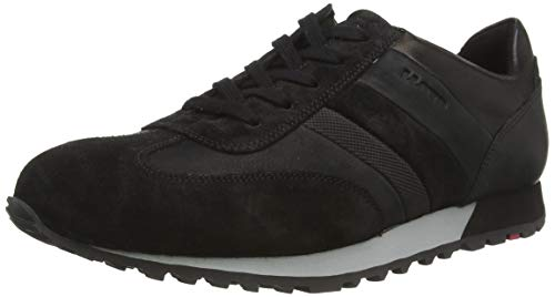 LLOYD Herren Agon Sneaker, Schwarz (Schwarz 0), 42.5 EU