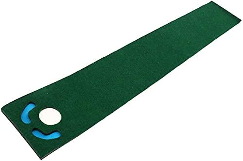 WXking 182.88cm * 33 cm Golf Supplies Portable Golf Puting Praxis Decke Indoor Golf Practice Mat Golf Matte Geschenk für Zuhause, Büro, Outdoor-Gebrauch (Color : Default)