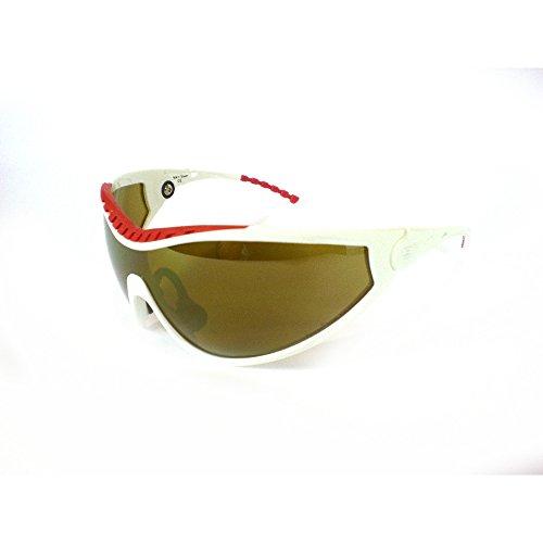 Briko VINTAGE Deportes Gafas Gafas de sol unisex X-orinó DUO blanco rojo 014169D4
