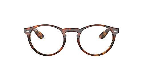 Ray-Ban 0rx 5283 5675 49 Monturas de Gafas, Top Havana Brown/Yellow, Hombre