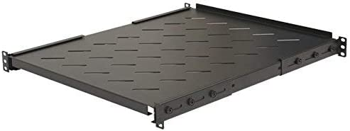 Ares Vision 550mm Heavy Duty 19'' Wide Steel Fixed Shelf for 800MM Server Cabinet.