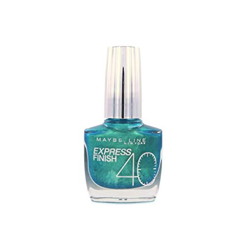 Gemey Maybelline Vernis à Ongles Express Finish 865 Turquoise Green