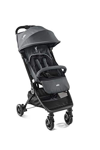 Joie Pact Flex LFC Pushchair/Stroller, Black Liverbird Joie Suitable from birth with flat reclining seat Lightweight chassis, with easy and compact fold Pairs perfectly with Joie Gemm, i-Gemm, i-Snug and i-Level car seats 4