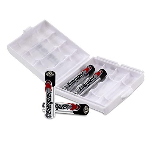 4 Stück Energizer AAAA Batterien für Digitale Eingabestifte, Stirnlampen, Surface Pen, Stylus Pen u.v.m. (alte Bezeichnung: Energizer Ultra+), in Batteriebox von WEISS - more power + [4er-Box]
