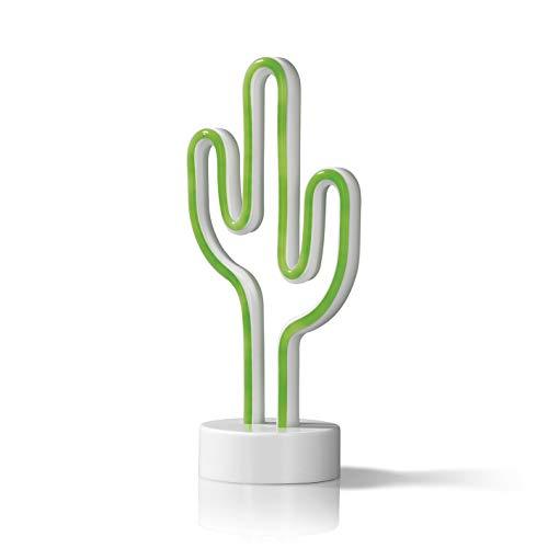 EASYmaxx Décoration LED pour éclairage d'intérieur. Kaktus