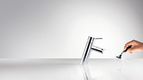 Hansgrohe – Waschtisch-Armatur, drehbarer Auslauf, Ablaufgarnitur, Chrom, Serie Talis 80 - 3