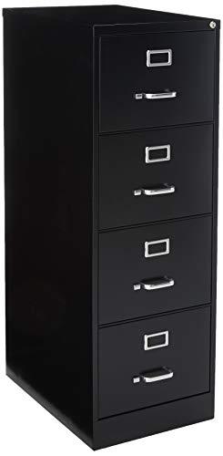 Lorell Fortress File Cabinet, Black