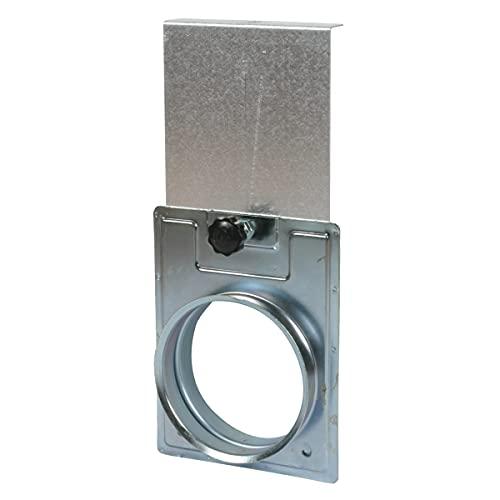 Absperrschieber D=100 mm - Zubehör für die Absauganlage