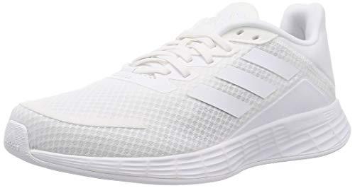 adidas Duramo SL, Sneaker Hombre, Footwear White/Footwear White/Grey, 42 EU
