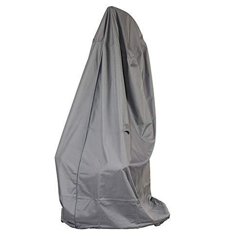 Schutzhuellenprofi bâche de protection pour fauteuil/suspension en polyester oxford 600D gris clair-de-'mehr garten'