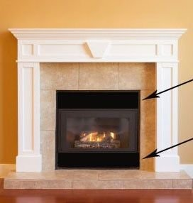 """Magnetic Fireplace Vent Cover - Black (ONE) 40"""" x 4"""" by Christy Walker Creations, LLC"""