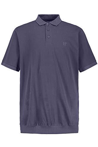 JP 1880 Herren große Größen bis 8XL, T-Shirt, Poloshir, JP1880-Brustdruck, Bauchshirt, Piqué, Blue Denim 3XL 712617 92-3XL
