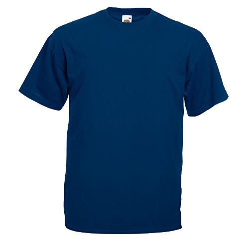 Fruit of the Loom - Classic T-Shirt 'Value Weight' L,Navy