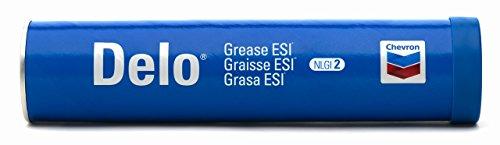 Chevron Delo Grease ESI - Wheel Bearing & Chasis Lubricant, 10 x 14 Ounce Tubes