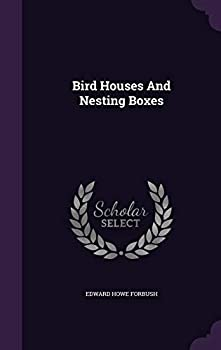 Hardcover Bird Houses and Nesting Boxes Book