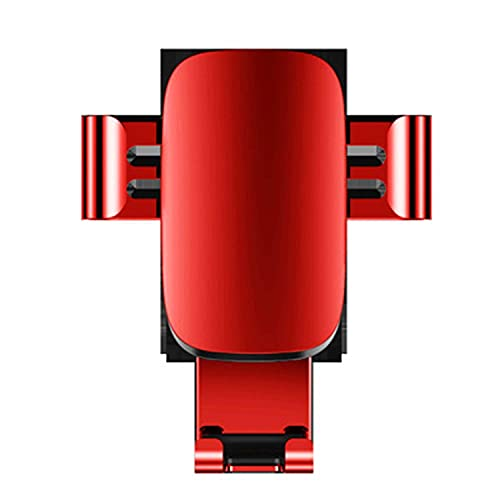 NUIOsdz Soporte de teléfono de coche de cuerpo de Metal de pantalla de 4-6 pulgadas, soporte de coche Universal de engranaje de precisión, accesorios modernos de moda para coche