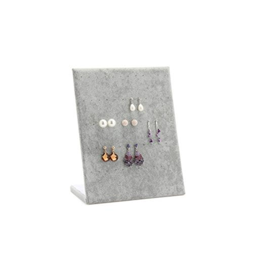 OULII Jewelry Organizer Earrings Display Rack Jewelry Stand Holder Tray
