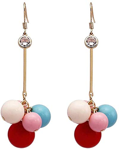 Earring Simple and fashionable wild temperament girl candy color earrings exquisite fashion popular classic sweet temperament