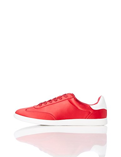 find.  Zapatillas Deportivas Retro para Mujer, Rojo (Red), 38 EU
