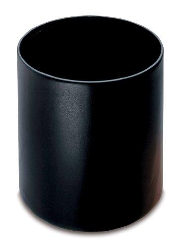 Läufer Ambiente Modena 36376 Waste Paper Basket Diameter 26 x 30 cm Black