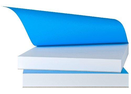 Carnet de croquis haut de gamme DIN A5 - 185950 - Papier de qualitéLe bloc bleu - The Blue Pad - L'original