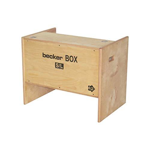 Becker Sport Germany Becker Box S/L Weltneuheit, 5 in 1 Box, (BSG 28985) einzigartige Plyo Box mit 5 Sprunghöhen