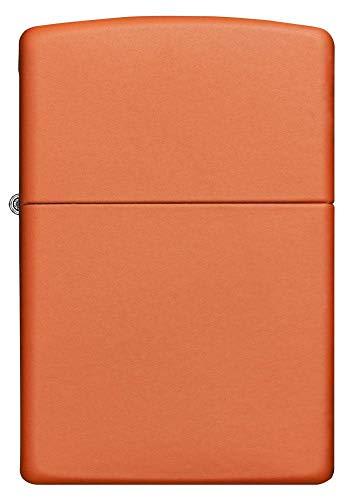 Zippo Orange Matte Lighter - 231