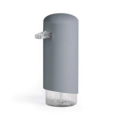 Compactor Dispenser per Sapone a Schiuma, Plastica Resistente, Doppio, Grigio, Taglia Unica, 4 Pezzi, (RAN9648)