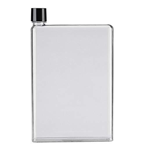 OhhGo Bouteilles d'eau plates et fines 750 ml - En plastique transparent - Portable - Incolore