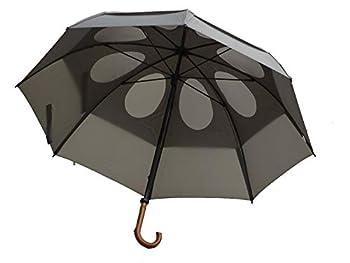 GustBuster 62  Canopy Doorman Umbrella Suit Grey