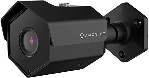 Amcrest UltraHD 5MP-POE-Außenkamera, 2592 x 1944 Pixel, IP-Überwachungskamera, IP67-Wasserdicht, 104 ° Betrachtungswinkel, 98 Fuß Nachtsicht, 5 Megapixel, IP5M-1173EB (Schwarz)