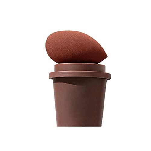 Batidoras de maquillaje de huevo de belleza Copa de café, esponja de mezcla de huevo, pera en forma de lágrima, batidora de maquillaje (color: C)