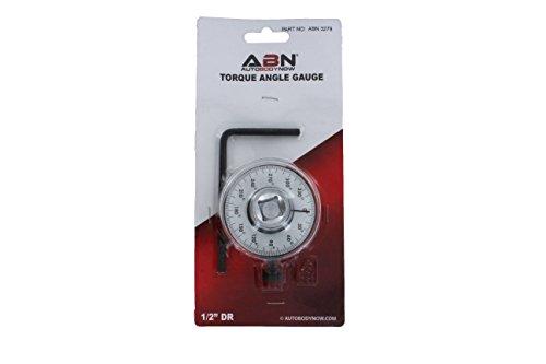ABN Torque Angle Gauge – 1/2 Inch Drive Torque Angle Meter Tool, Torque to Yield Gauge Torque Adapter