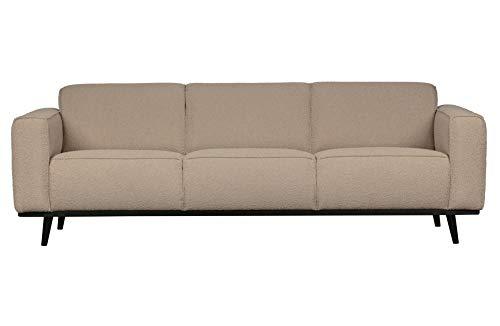 BePureHome 3-Sitzer Sofa Statement Boucle Beige