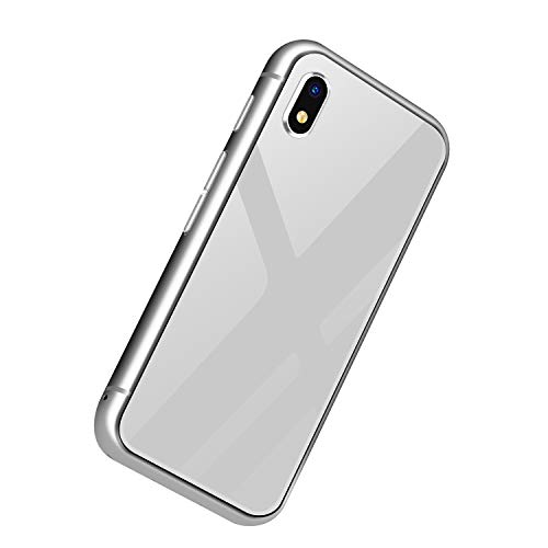 Nrpfell TeléFono Inteligente Melrose K15 32G Android 7.0 1580MAh 4G 5MP WiFi MP4 Let MúSica TeléFono PortáTil Regalo para Ni?Os Plata