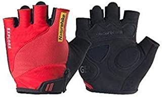 Autumn and Winter Riding Fleece Gloves Bicycle Touch Screen Full Finger Gloves[M]