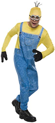 Rubie's Men's Movie Minion Costume, As Shown, Standard