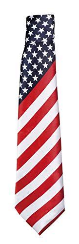 Boland 44961 Krawatte USA, Mehrfarbig