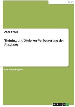 Training und Ziele zur Verbesserung der Ausdauer