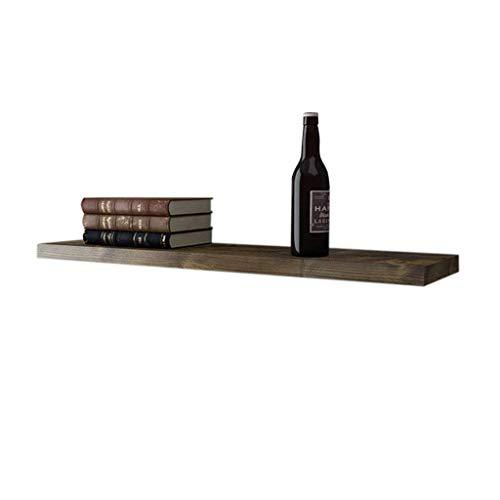 WYJW Wonen goederen vintage stijl houten wandplank, creatieve decoratieve display stand, zwevende scheiding wijn \\\ u0026 bloem opslag frame rek, voor bar/keuken/woonkamer/slaapkamer, multi