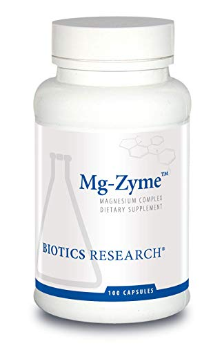 Biotics Research MgZyme Magnesium Glycinate - Improves Sleep, Promotes Relaxation, and Supports Overall Cardiovascular Health, 100 Capsules