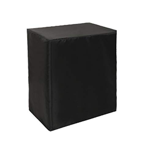 AMDHZ - Housses de Meubles Pli Facile Imperméable Canapé Extérieur Arrière-Cour Housse Table, 2 Couleurs 25 Taille (Color : Noir, Size : 60X60X60CM)