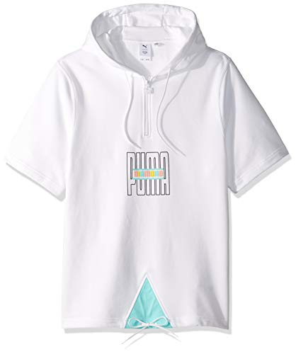 PUMA Men's PUMA x Diamond SS Hoodie Sweater, puma White, M