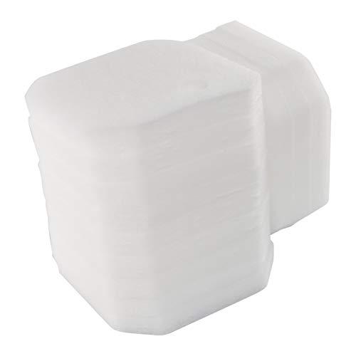 Sin Marca Estera de filtro Esponja de filtrado fina de color blanco de reemplazo para Eheim 2616265 Professional Pro 2 2226/2326/ 2026/2128 y Experience 350 (12 piezas)