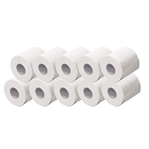 Pwtchenty Toilettenpapier Hohler Ersatzrollenpapierdruck Interessantes Toilettenpapier Tisch Küchenpapier Bedrucktes Toilettenpapier Klopapier in Papier Verpackung