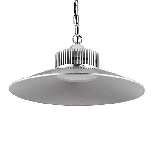 Sararoom 150W LED de Alta luz de la bahía, 15000LM Lámpara Industrial LED, IP54 Impermeable taller de la lámpara -6500K Blanco frio -E27 Zócalo, para estadio,plaza,sala,fabrica,almacén